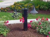 Lámparas 2 del jardín Fotografía de archivo libre de regalías