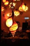 Lámparas del Seashell Imágenes de archivo libres de regalías