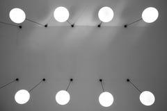 Lámparas del techo Fotos de archivo