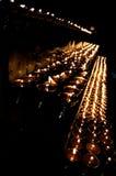 Lámparas del templo Foto de archivo