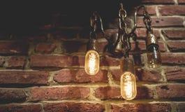 Lámparas del tungsteno Foto de archivo