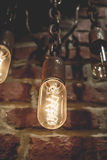 Lámparas del tungsteno Imágenes de archivo libres de regalías