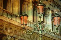 Lámparas del vintage Foto de archivo libre de regalías