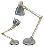 Lámparas en blanco Foto de archivo