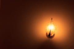 Lámparas en el dormitorio Imagen de archivo