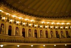 Lámparas en el teatro Fotos de archivo