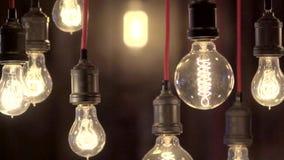 Lámparas hermosas de Edison