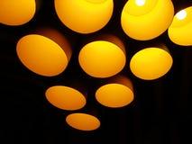 Lámparas lisas Imagen de archivo libre de regalías