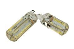 Lámparas llevadas Imágenes de archivo libres de regalías