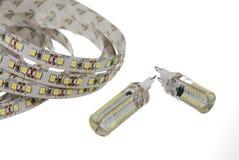 Lámparas llevadas Imagen de archivo libre de regalías