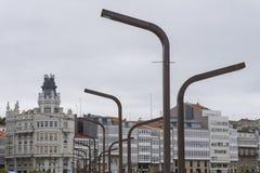 Lámparas llevadas Imagenes de archivo