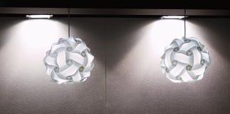 Lámparas modernas Imagenes de archivo