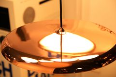 Lámparas modernas Foto de archivo
