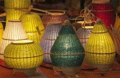 Lámparas para la venta Foto de archivo libre de regalías