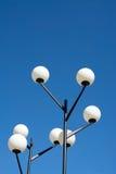 Lámparas redondas de los años 50 Fotografía de archivo