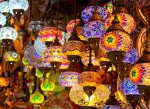 Lámparas turcas Fotografía de archivo libre de regalías
