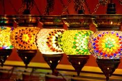 Lámparas turcas Imagen de archivo libre de regalías