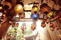 Lámparas turcas tradicionales Fotografía de archivo libre de regalías