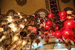 Lámparas turcas tradicionales Foto de archivo libre de regalías