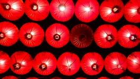 Lámparas y festival colorido del Año Nuevo chino Foto de archivo libre de regalías