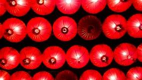 Lámparas y festival colorido del Año Nuevo chino Imagen de archivo