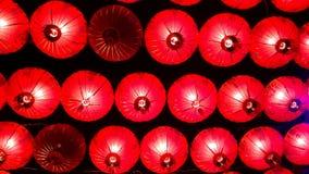 Lámparas y festival colorido del Año Nuevo chino Foto de archivo