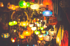 lmparas y linternas rabes en la marrakesh marruecos imagen de archivo libre de regalas