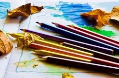 Lápices Imágenes de archivo libres de regalías