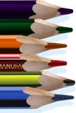 Lápices Stock de ilustración