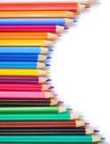 Lápices coloreados Imagen de archivo