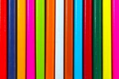Lápices coloreados Foto de archivo libre de regalías