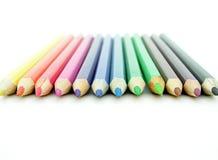 Lápices coloreados Foto de archivo