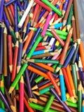 Lápices coloridos fotos de archivo