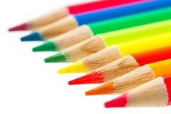 Lápices coloridos Foto de archivo