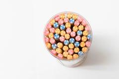 Lápices coloridos, visión superior Imágenes de archivo libres de regalías