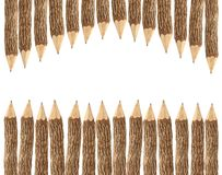 Lápices con el espacio de la copia Imagen de archivo libre de regalías