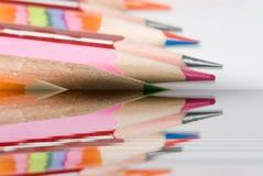 Lápices de los colores Fotografía de archivo libre de regalías