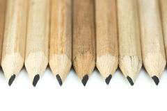 Lápices de madera Fotografía de archivo libre de regalías