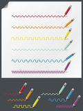 Lápices del color libre illustration