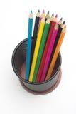 Lápices del color Fotografía de archivo libre de regalías