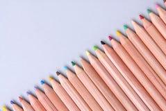 Lápices del color Imagenes de archivo