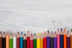 Lápices del color Fotos de archivo libres de regalías