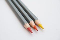Lápices del colorante Fotos de archivo