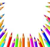 El vector dibujó a lápiz el fondo Foto de archivo libre de regalías