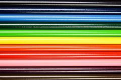 Lápices fijados Imágenes de archivo libres de regalías