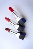 Lápices labiales imagen de archivo libre de regalías