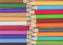 Lápices que entrelazan Fotos de archivo