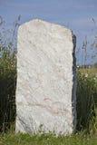 Lápida mortuaria Fotografía de archivo