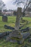 Lápida mortuaria en cementerio del ` s Camberwell de Londres Fotos de archivo libres de regalías