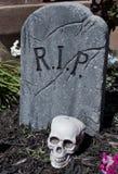 Lápida mortuoria Fotografía de archivo